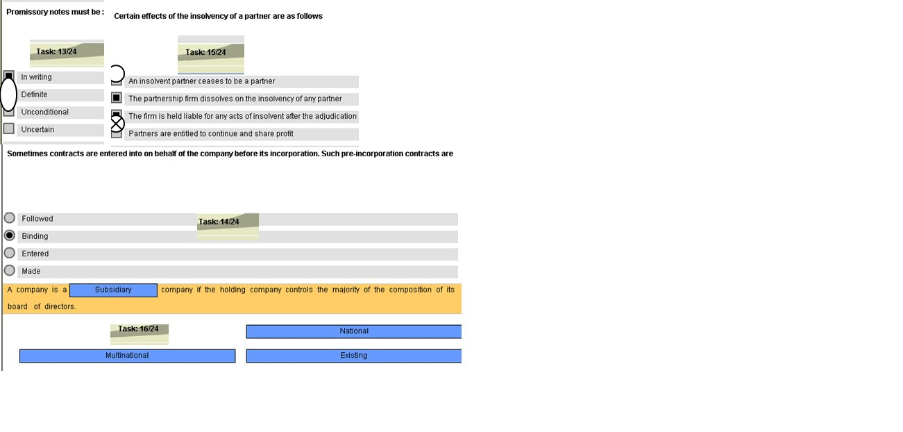 SCDL ASSIGNMENTS QUESTION BANK