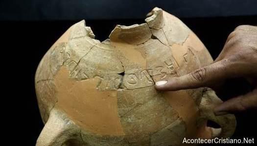 Jarrón de la época del rey David con inscripción cananea