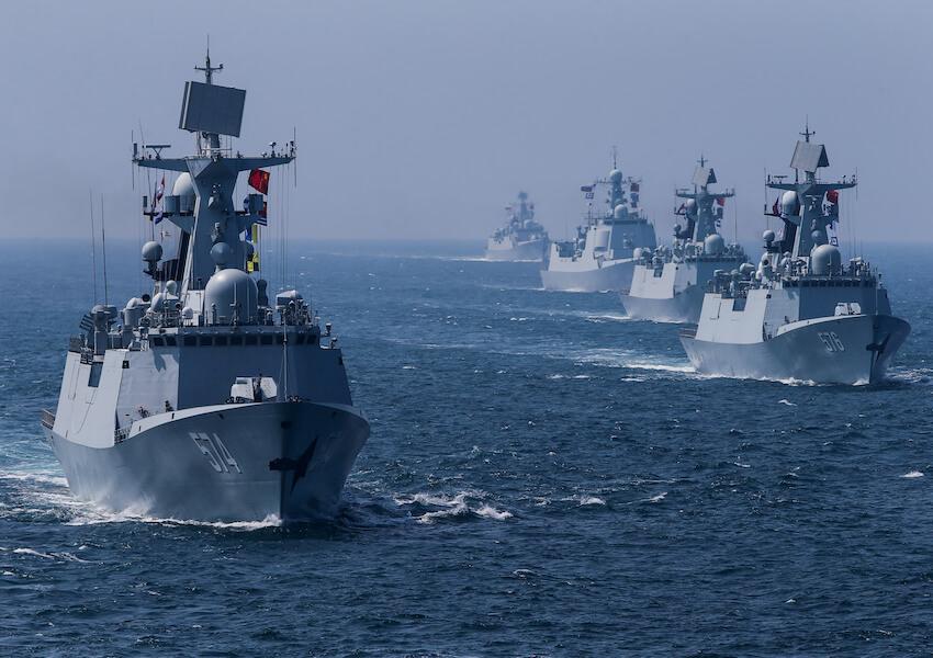 Armada Peran AS Saat Ini Sudah Berada Dalam Jangkauan Rudal Iran