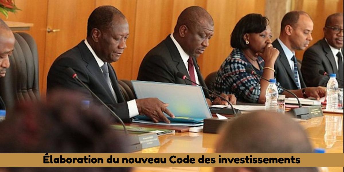Élaboration du nouveau Code des investissements