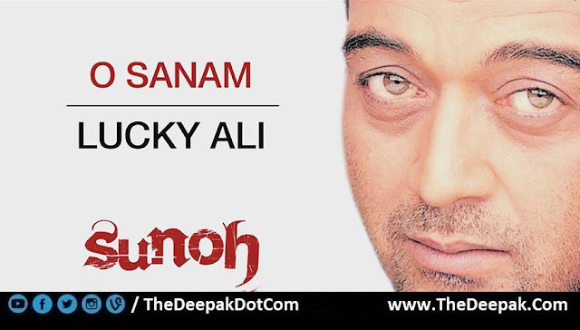 O Sanam Guitar Chords with Strumming Pattern, Hindi song sung by Lucky Ali.