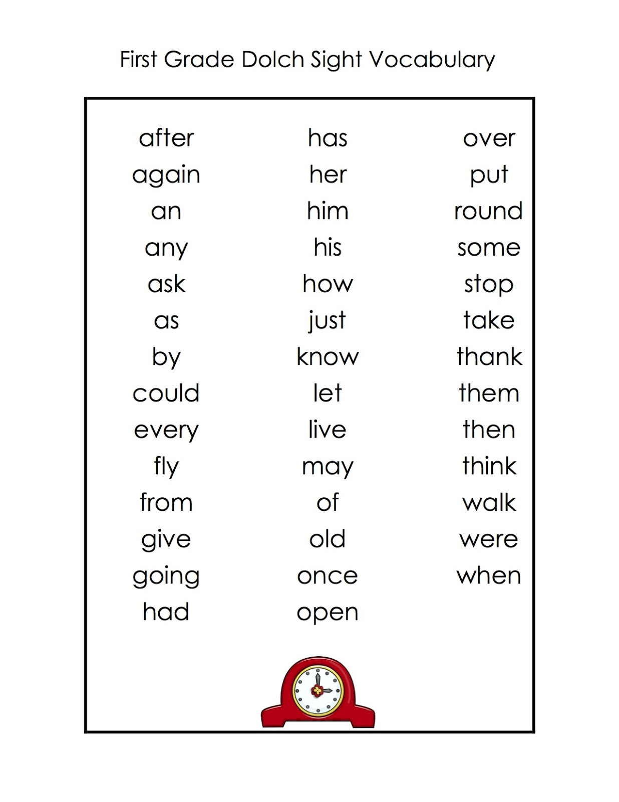 Sight Word Worksheet New 17 Dolch Sight Words Cloze
