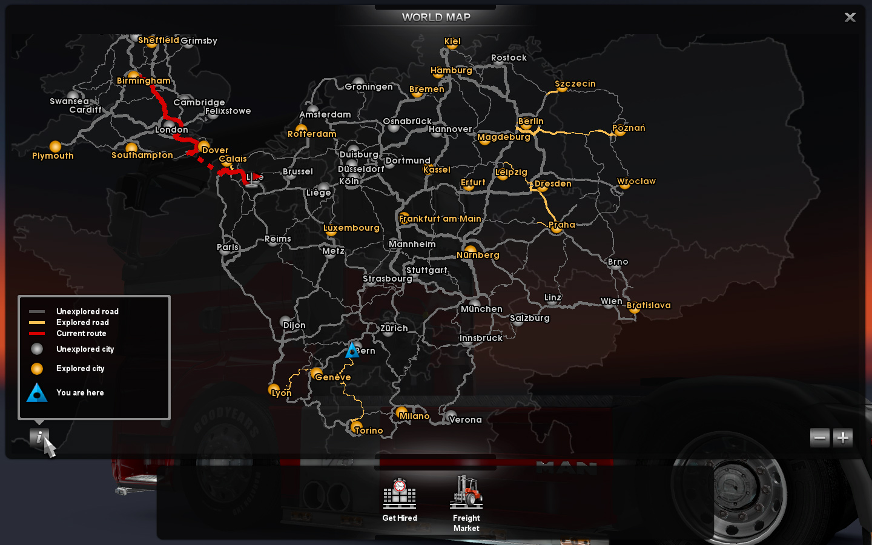 mapa euro truck simulator 2 SCS Software's blog: The map is never big enough mapa euro truck simulator 2