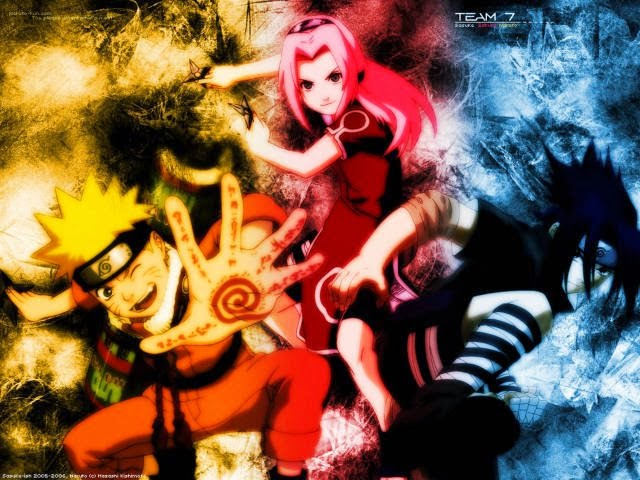 Naruto é uma série de anime e mangá criada por Masashi Kishimoto e  serializada na revista semanal Weekly Shōnen Jump desde 1999. cabb762010d
