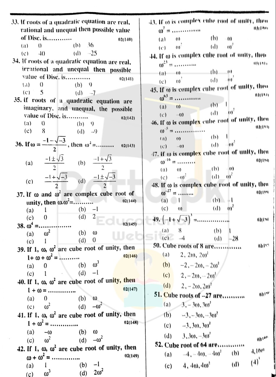 10th Maths Misc. Exercise 2 Notes 3
