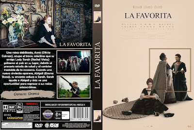 CARATULA LA FAVORITA - THE FAVOURITE - 2018 [COVER DVD]