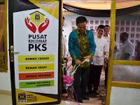 PKS Resmikan Pusat Khidmat Yang Pertama di Indonesia