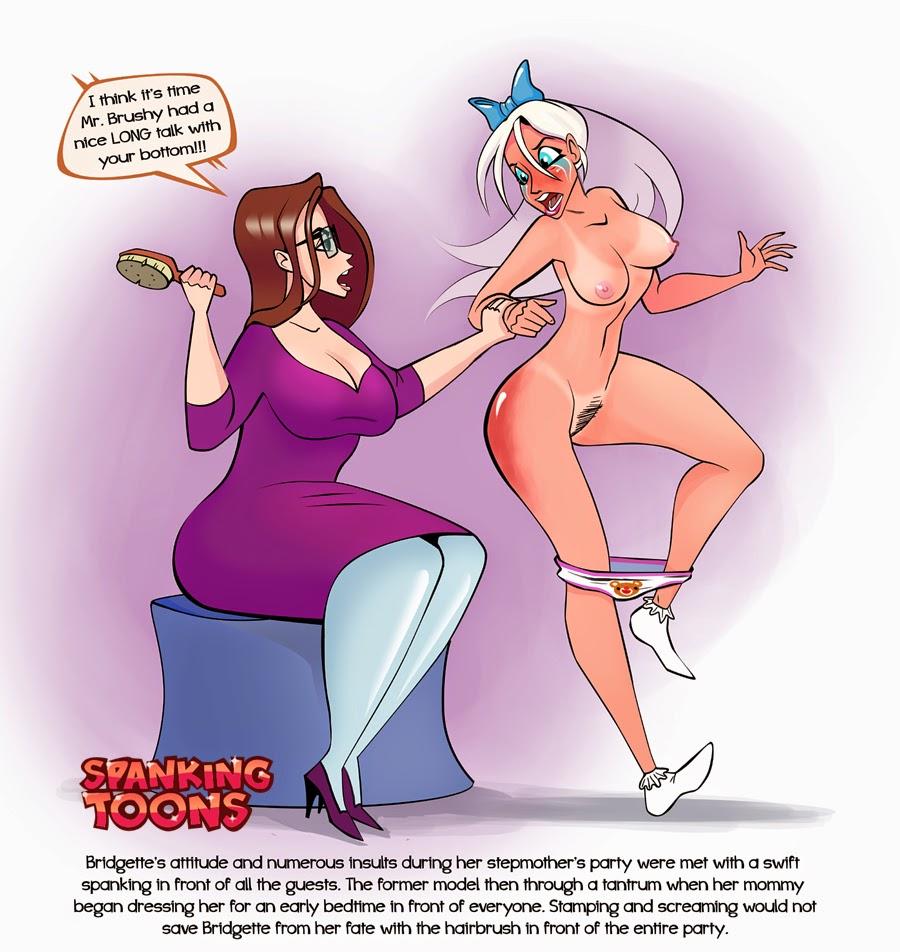 cartoon spanking porn