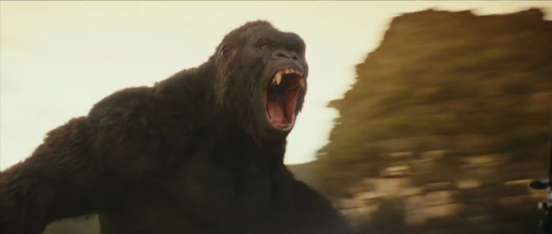 Kong: Skull Island (2017): Director: Jordan Vogt-Roberts Starring: Tom Hiddleston, Samuel L. Jackson, Brie Larson, John C. Reilly, etc.  King Kong created by Merian C. Cooper.