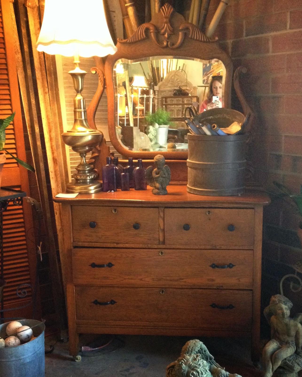 Le Grand 6 Drawer Dresser In Antique White: Nursery Update {Refinished Dresser}