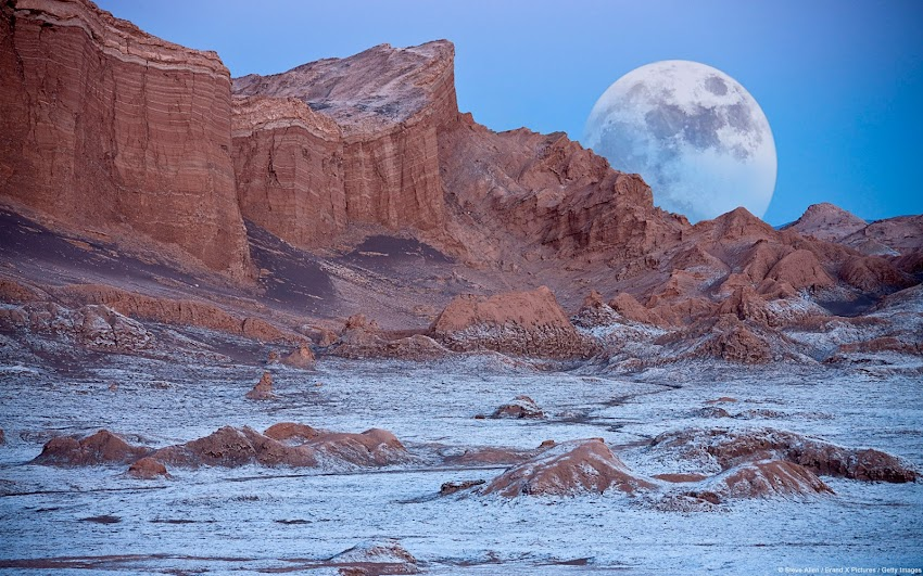 Valley of the Moon, Atacama Desert (Chile)