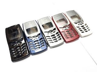 Casing Nokia 8250 Jadul Baru Fullset Merk Wellcomm