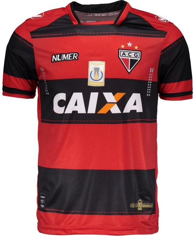 52ebf6b25c Numer divulga as novas camisas do Atlético Goianiense - Show de Camisas