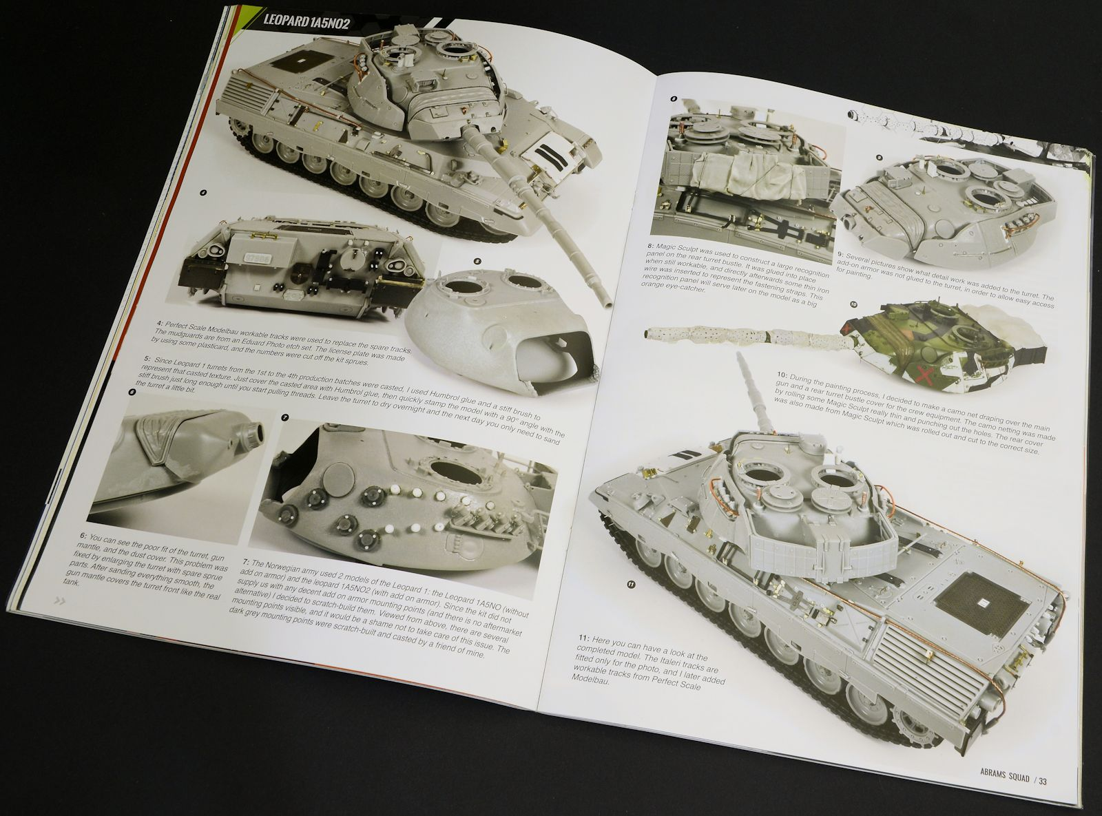 The Modelling News: We Review Abrams Squad's Number #9