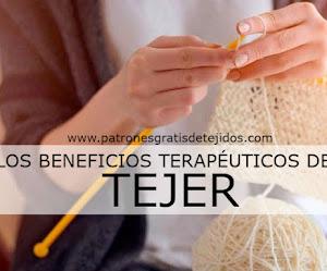 Los beneficios terapéuticos de tejer
