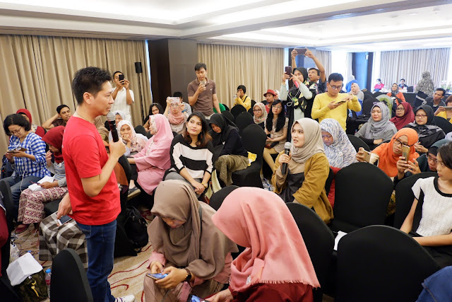 workshop bloggerday 2019 di crown plaza bandung