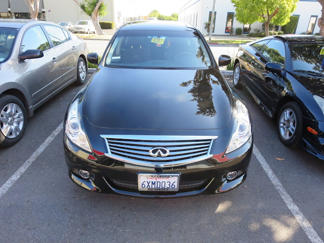 Infiniti after collision repairs at Almost Everything Auto Body