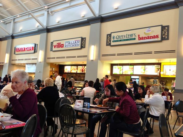 Livermore Outlet Mall Food Court