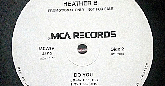 "Heather B. ‎– Do You - Vinyl 12"" (1998)"