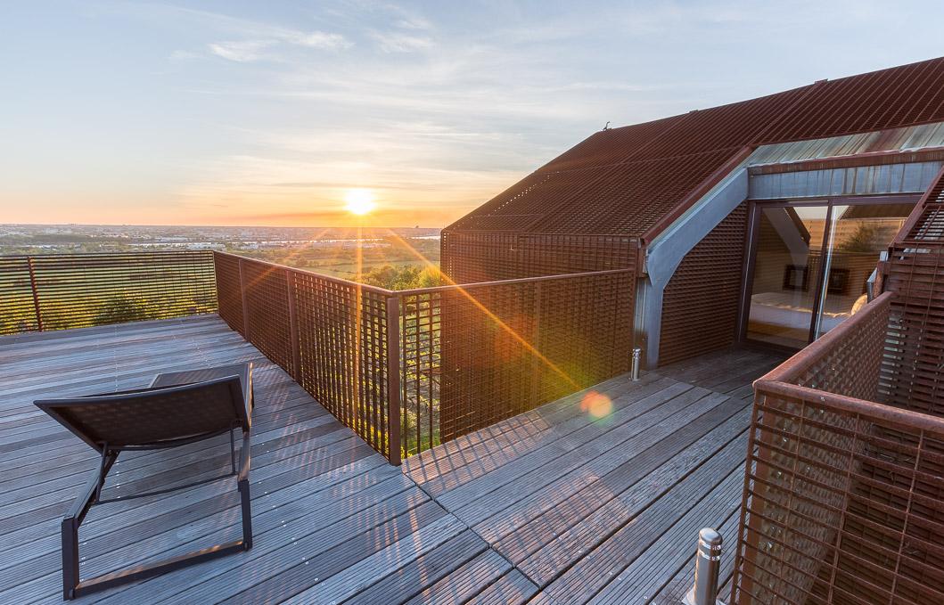 Hôtel Saint james coucher soleil