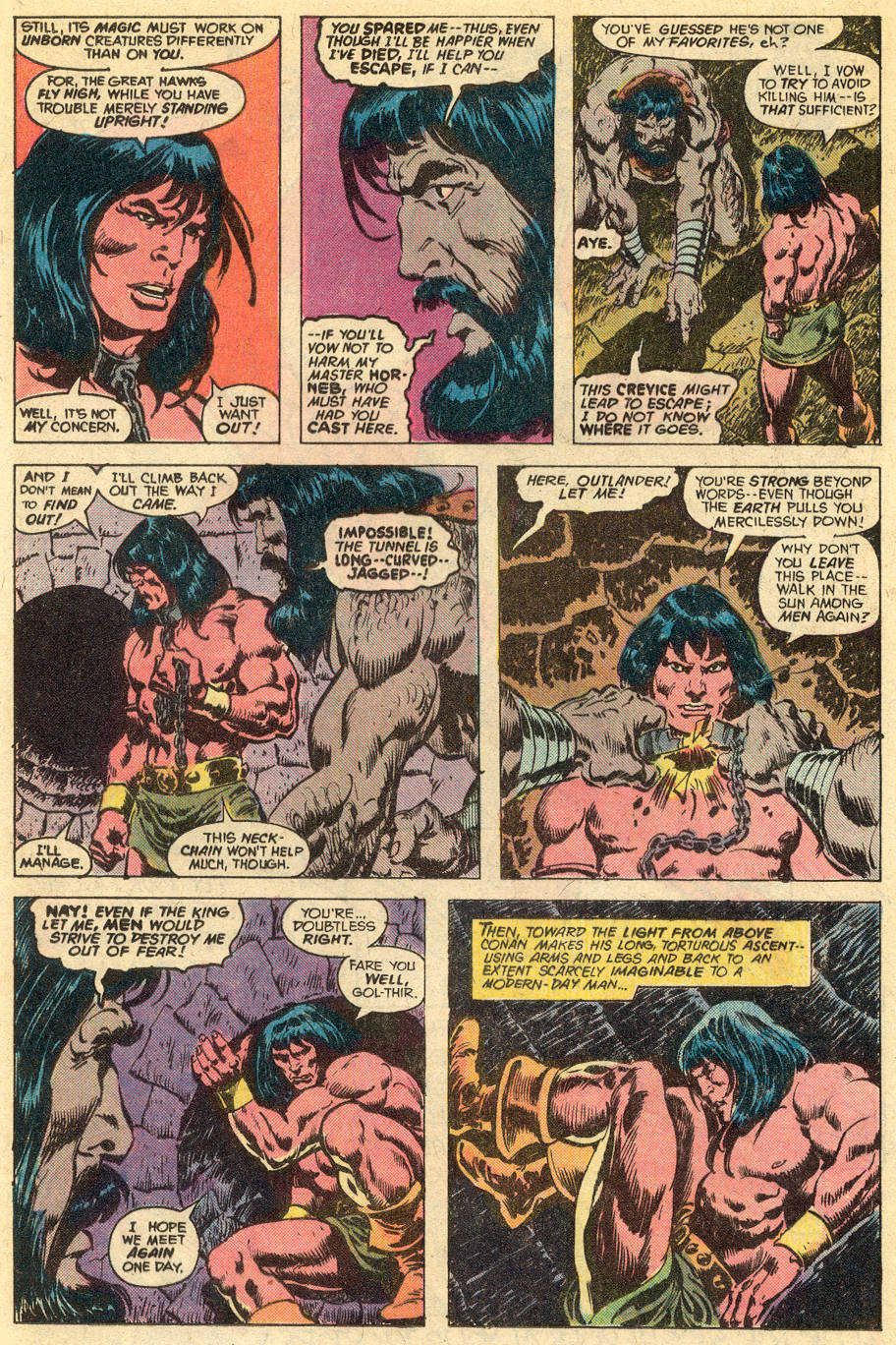 Conan the Barbarian (1970) Issue #77 #89 - English 9