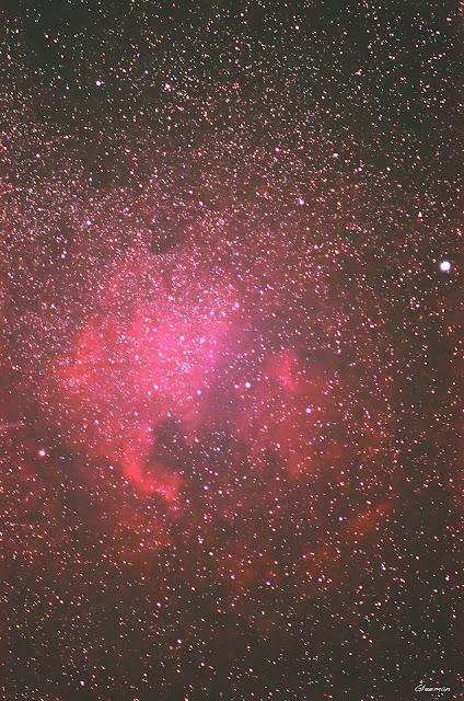 Northern America Nebula - Pentax K5 + O-GPS1 + DA*200, 120sec