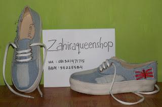 Sepatu Kets Wanita Sneakers Jeans Casual Trendy Murah Terbaru