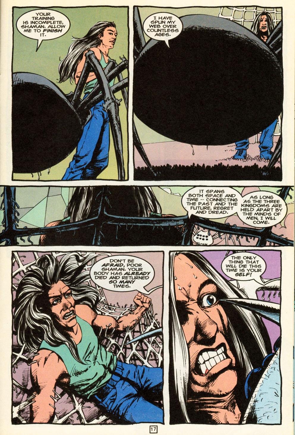 Read online Animal Man (1988) comic -  Issue #86 - 17