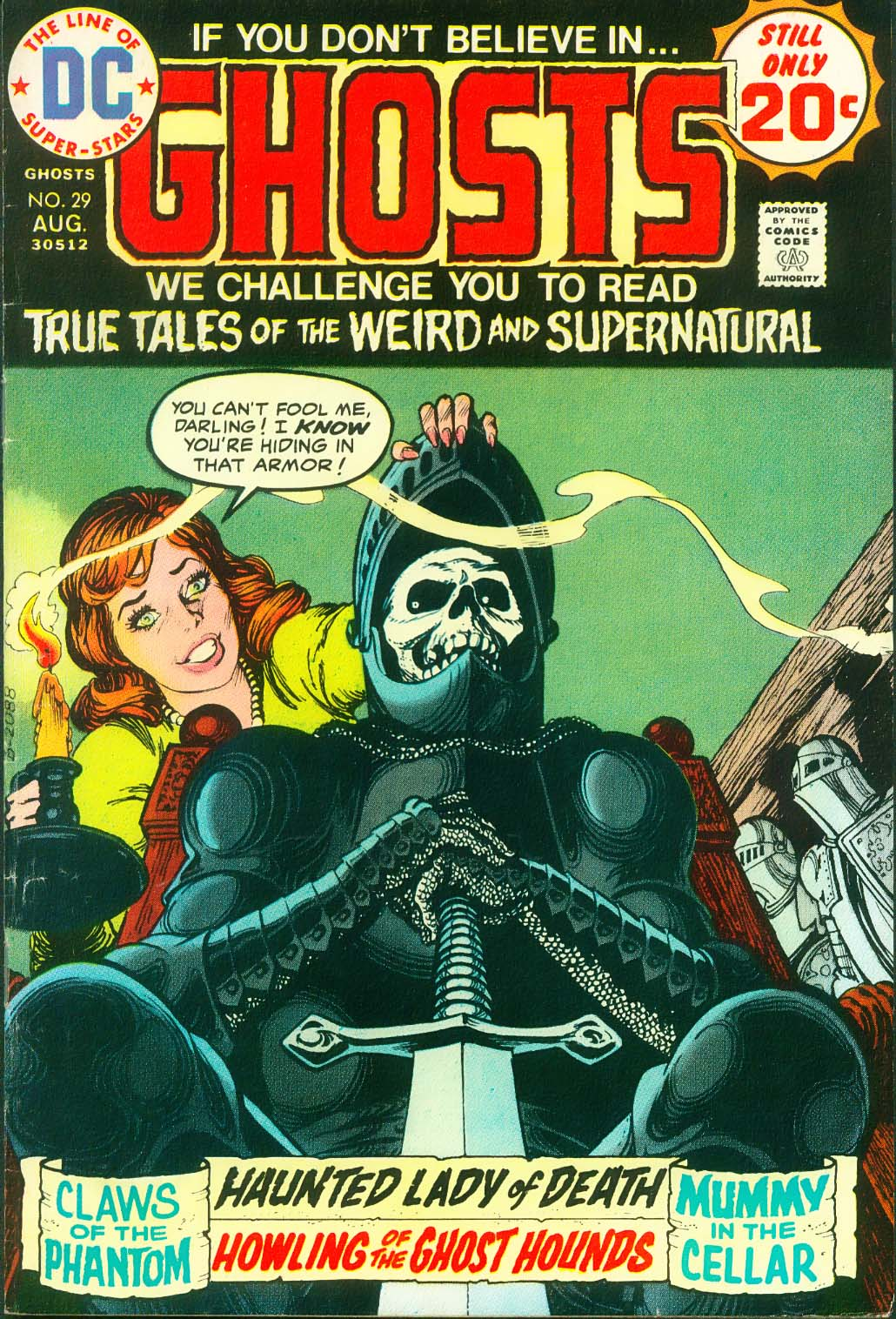 Read online Ghosts comic -  Issue #29 - 1