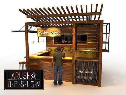 Desain Cafe Mini Lesehan