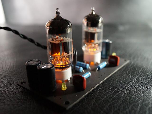 Ламповый пред.усилитель гибридного усилителя для наушников