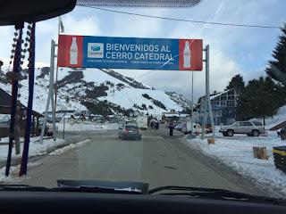 Entrada do Cerro Catedral em Bariloche