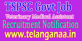 Telanagana Veterinary Medical Assistant Recruitment Notification 2016 Apply TS Govt Jobs