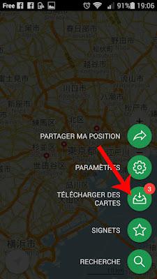 carte Maps.me