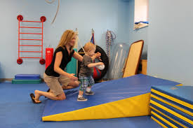 The San Diego Pediatric Pt Fun Activities With A Wedge Mat
