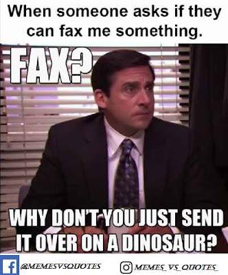 Fax meme