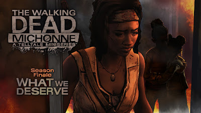 The Walking Dead Michonne #3 (miniseries finale) - What We Deserve