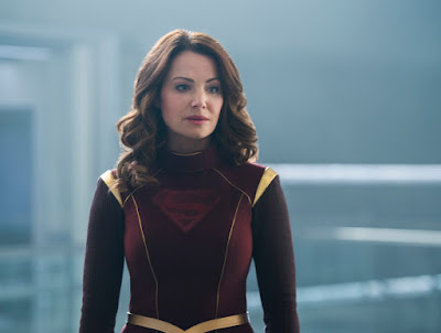 CW Supergirl 3x22 Make It Reign Alura In-Ze