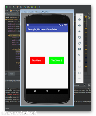 Android Studio - Horizontal ScrollView
