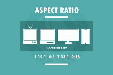aspect ratio multimedia
