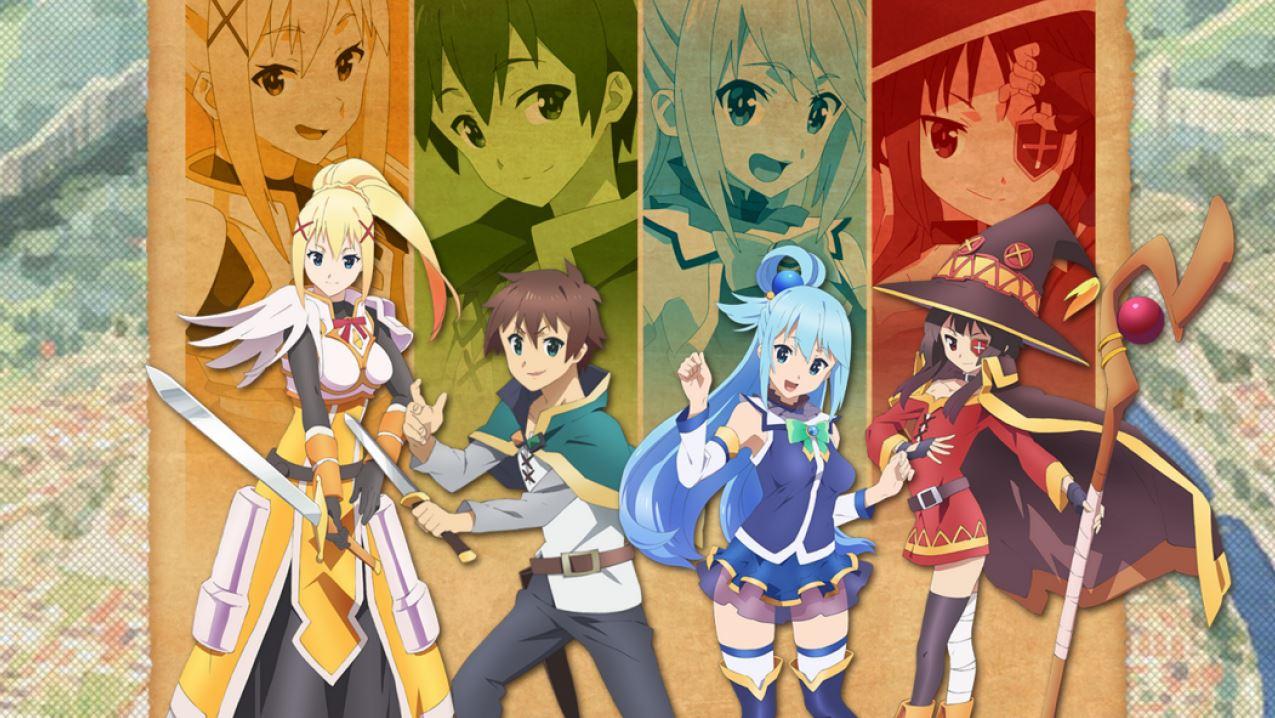 anime, Kono Subarashii Sekai ni Shukufuku wo!, anarkan, wanderlust,