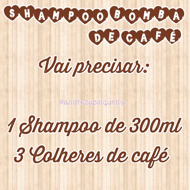 shampoo de café receita