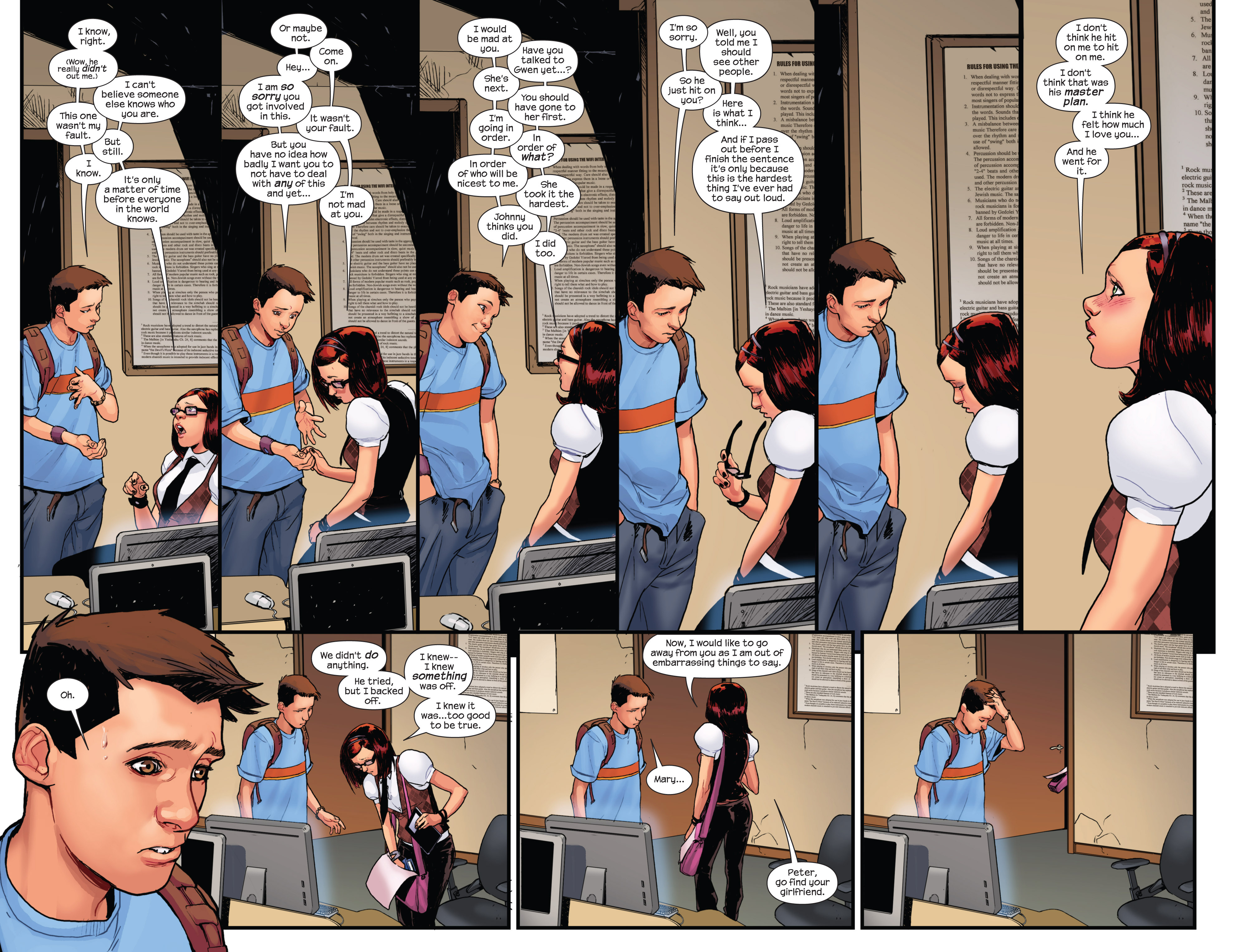 Read online Ultimate Spider-Man (2009) comic -  Issue #15 - 20