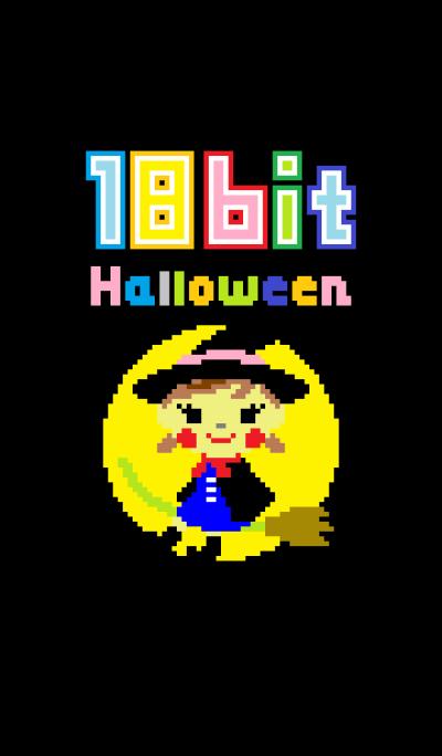 18bit-chan halloween