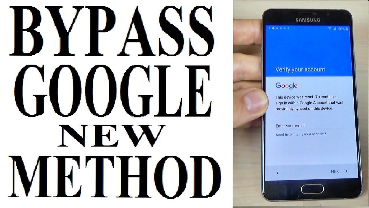 Samsung A5 2016 (A510FD) Google Account Remove FRP 7.0 Nougat
