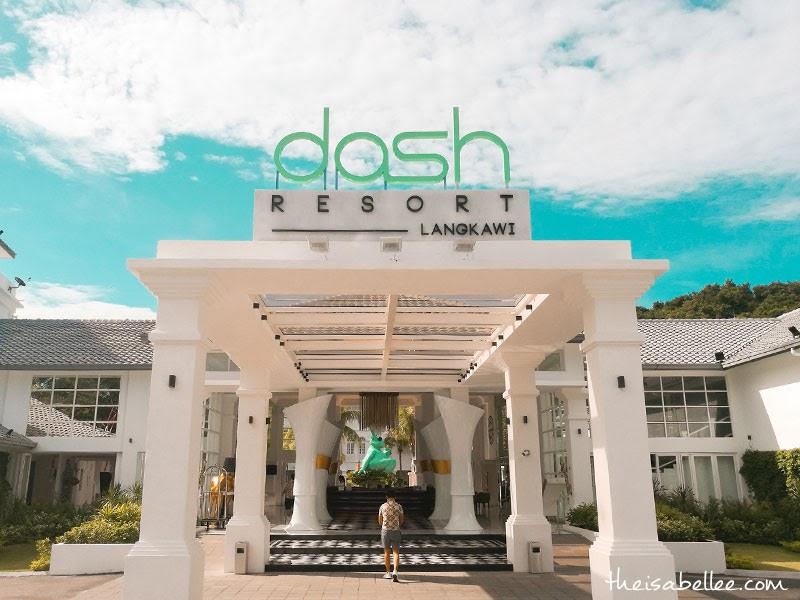 Dash Resort Langkawi entrance