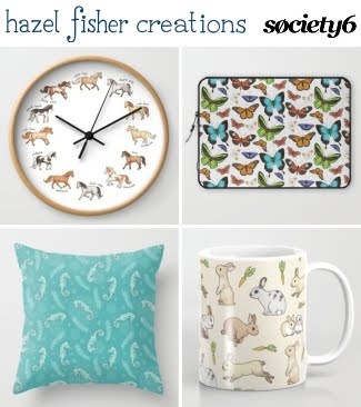 Hazel fisher creations cyber monday free christmas for Society 6 promo code