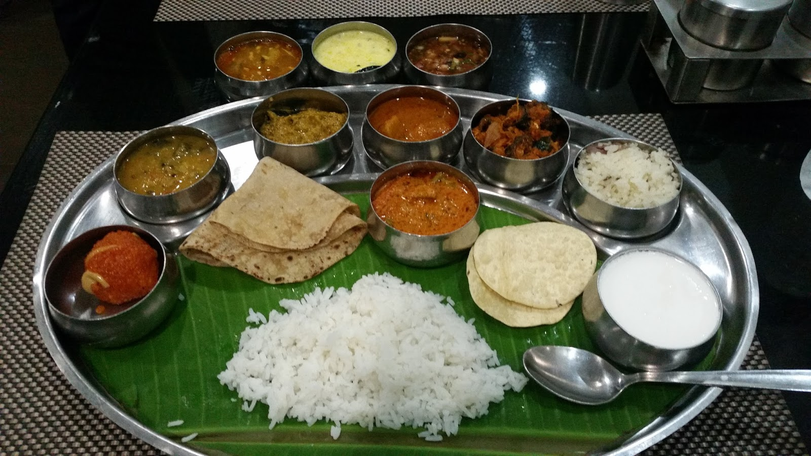 Goutham grand hotel andhra cuisine in the hinterlands of for Andhra cuisine dishes