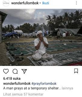 Prayforlombok