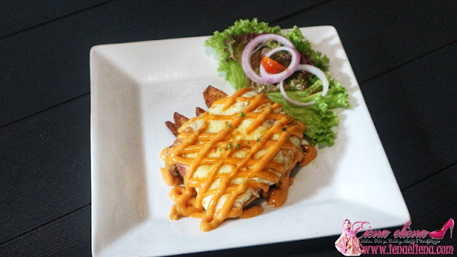 Cheese Chicken Chop RM17.90